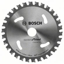 Lame de scie circulaire Standard for Steel Bosch 2608644225