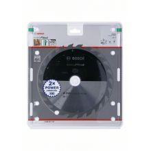 Lame de scie circulaire StandardforWood pour scies sans fil 216x1,7/1,2x30 T24 Bosch 2608837724