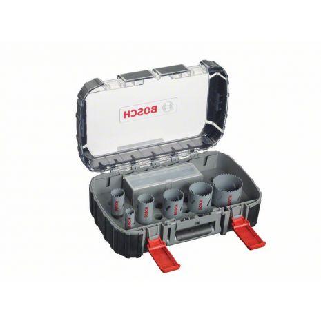 Scies-trépans bimétal HSS coffret de 11 pièces pour électricien Bosch 2608580886