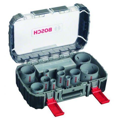 Scies-trépans bimétal HSS, coffret de 17 pièces Universal Bosch 2608580888