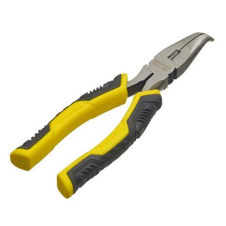 Pince A Becs 1/2 Ronds Longs Coudes 200 mm - revêtement caoutchouc anti-glisse Stanley STHT0-75066
