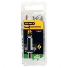 Rivet Aluminium - En Boite COURT - 3 mm x 3 (x 25 pcs) Stanley 1-PAA42T