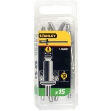 Rivet Aluminium - En Boite LONG - 4 mm x 12,7 (x 15 pcs) Stanley 1-PAA58T