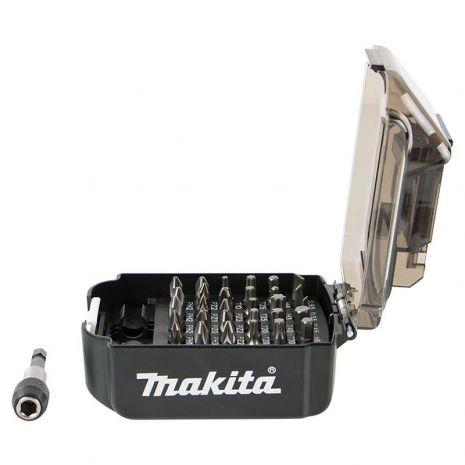 Coffret ''batterie LXT'' 30 embouts + porte embour Makita
