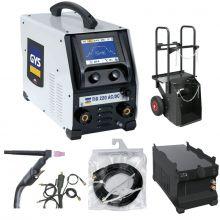 Pack poste de soudure TIG 220 AC/DC GYS complet + accessoires 012271