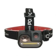 Lampe frontale - 3W - 200Lm - IP44 - Noir Elwis Pro