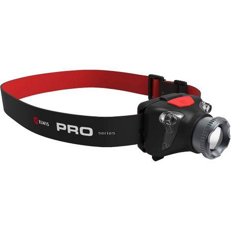 Lampe frontale H4-R 5W 450LM IP45 lampe de lecture rouge Elwis Pro