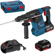 Perforateur sans-fil Bosch GBH 18V-26F + 2 batteries 6,0 Ah + chargeur 0615990K7Z