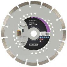 Disque Diamant Pro Beton D230 x 22,23 x h12 - 11130004 - Sidamo