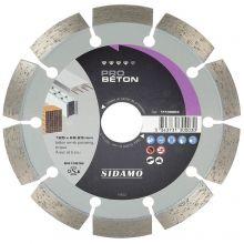 Disque Diamant Pro Beton D.125 x 22,23 x h 10 - 11130003 - Sidamo