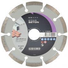 Disque Diamant Star Beton D 125 x 22,23 x h 7 - 11130009 - Sidamo
