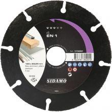Disque Carbure 4 en 1 125x22.23 - 11130201 - Sidamo