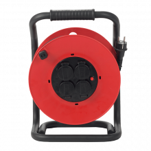 Enrouleur 25 ml HO7RNF 3G2,5 avec disjoncteur thermique