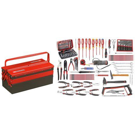 Sélection électronique 101 outils - boîte à outils métal 2050.E17 Facom