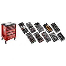 Sélection tous métiers 118 outils - servante 6 tiroirs CM.118 Facom