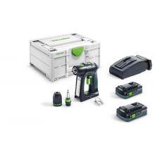 Perceuse-visseuse sans fil C 18 HPC 4,0 I-Plus - 576435 - Festool
