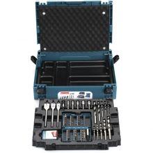 Coffret ensemble accessoires 66 pièces en coffret MAKPAC B-43044