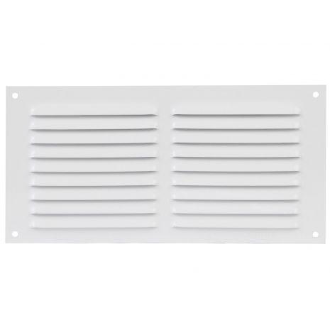 Grille de ventilation. En aluminium. Passage d'air: 150 cm². AMIG20185