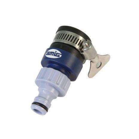 Adaptateur réglable pour joindre robinet et tuyau, fabriqué 21043