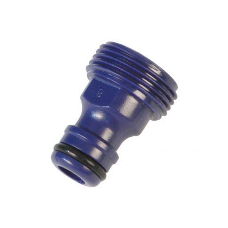 Adaptateur / Robinet pour joindre robinet et tuyau, fabriqué 21044