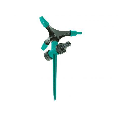 Arroseur rotatif avec pointe et 3 bras fabriqué en ABS. 2748