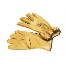 Gant en fleur de cuir pour risques mécaniques. Norme : EN420 15289