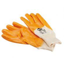 Gant mixte en nitrile sur coton avec poignet élastique pour 15823