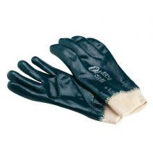 Gant mixte en nitrile sur coton complet avec poignet élastiq 15829