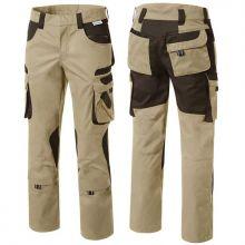 Pantalon de travail TOOLS à poches beige/marron Pionier 5346