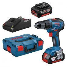 Perceuse-visseuse sans fil GSR 18V-55 + 2 batteries GBA 18V 5.0 Ah Bosch 0615990L8D